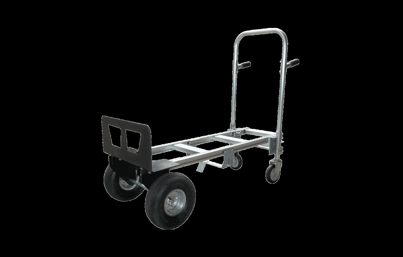 Carreta Doble Servicio para 300KG (Aluminio)